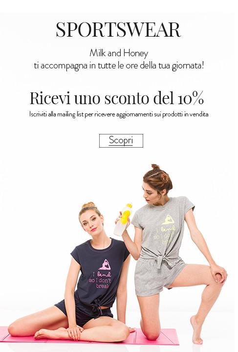 milk and honey Primavera estate Sportwear